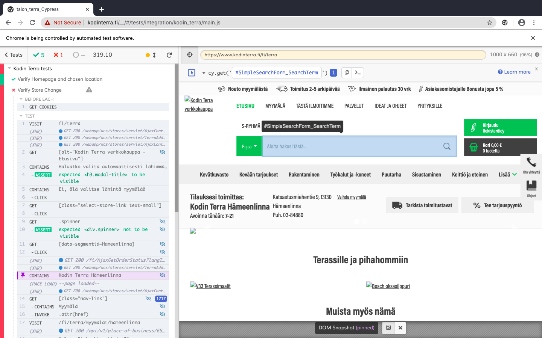 Qubilea-Robot Framework vs Cypress